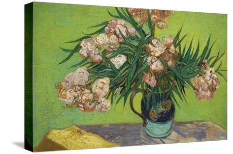 Oleanders-Vincent van Gogh-Stretched Canvas Print