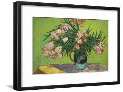 Oleanders-Vincent van Gogh-Framed Art Print