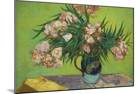 Oleanders-Vincent van Gogh-Mounted Art Print