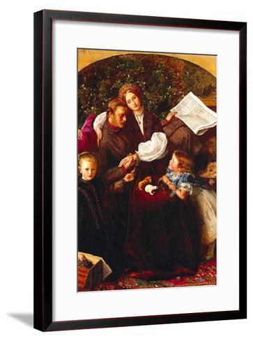 Peace Concluded-John Everett Millais-Framed Art Print
