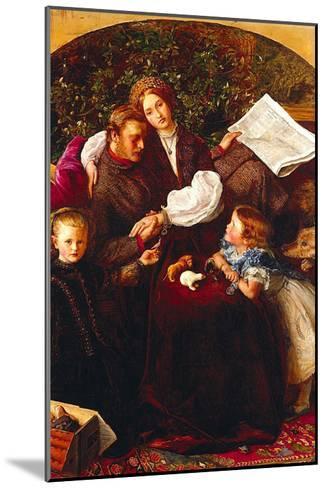 Peace Concluded-John Everett Millais-Mounted Art Print