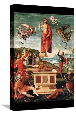 Resurrection of Christ-Raphael-Stretched Canvas Print