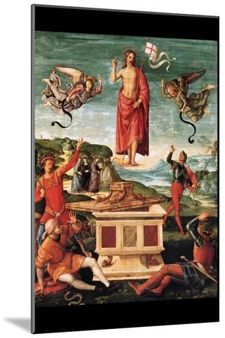 Resurrection of Christ-Raphael-Mounted Art Print