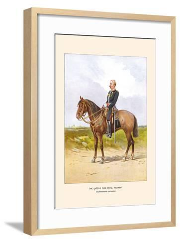 Queens Own Royal Regiment - Staffordshire Yeomanry-Walter Richards-Framed Art Print