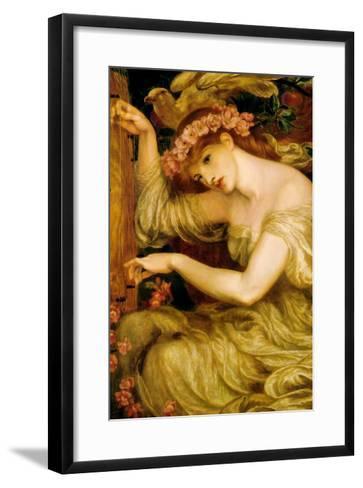 A Sea Spell-Dante Gabriel Rossetti-Framed Art Print