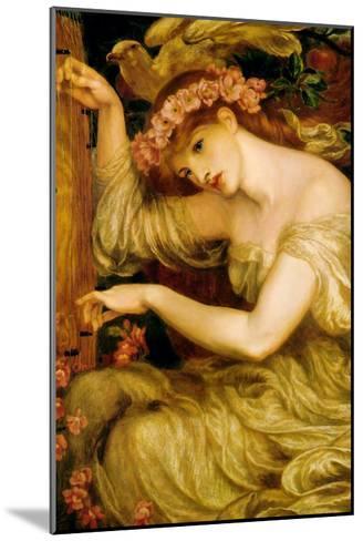 A Sea Spell-Dante Gabriel Rossetti-Mounted Art Print