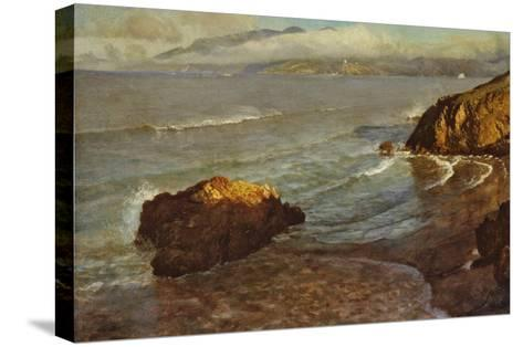 Entrance to the Golden Gate-Albert Bierstadt-Stretched Canvas Print