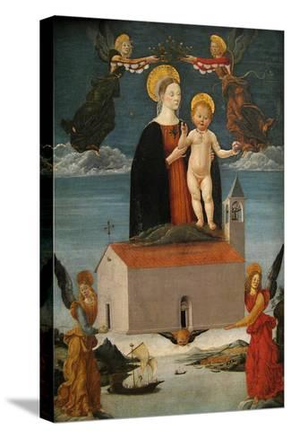 The Translation of the Holy House of Loreto, Ca. 1511-Satumino Gatti-Stretched Canvas Print