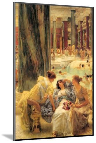Baths of Caracalla-Sir Lawrence Alma-Tadema-Mounted Art Print