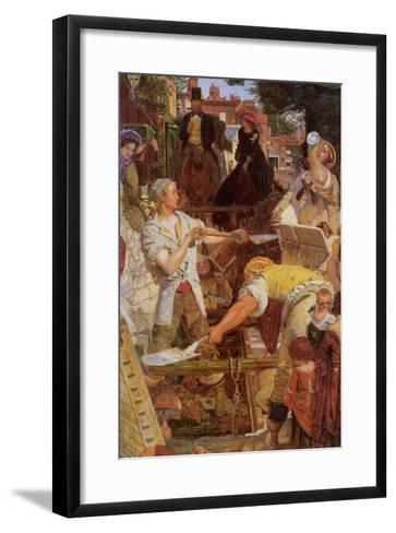 Work-Ford Madox Brown-Framed Art Print