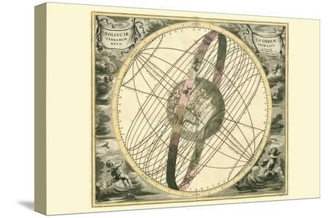 Solis Cir Terrarum-Andreas Cellarius-Stretched Canvas Print