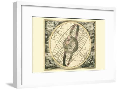 Solis Cir Terrarum-Andreas Cellarius-Framed Art Print