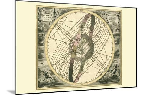 Solis Cir Terrarum-Andreas Cellarius-Mounted Art Print