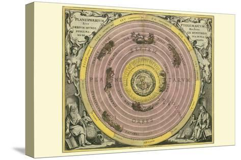 Planisphaerium Ptolemaicum-Andreas Cellarius-Stretched Canvas Print