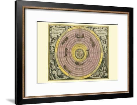 Planisphaerium Ptolemaicum-Andreas Cellarius-Framed Art Print