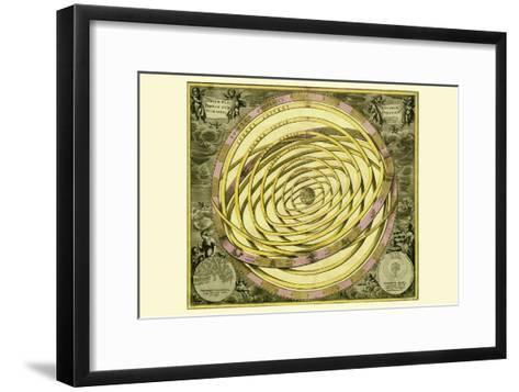 Orbium Planenarum-Andreas Cellarius-Framed Art Print