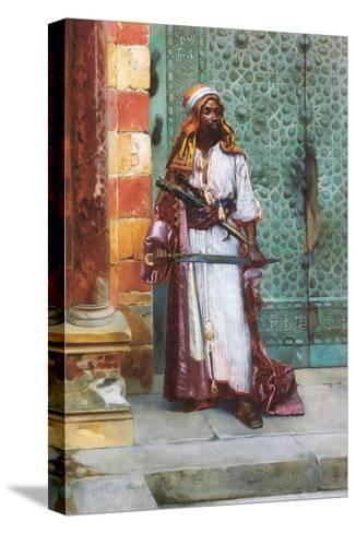 Standing Guard-Rudolph Ernst-Stretched Canvas Print