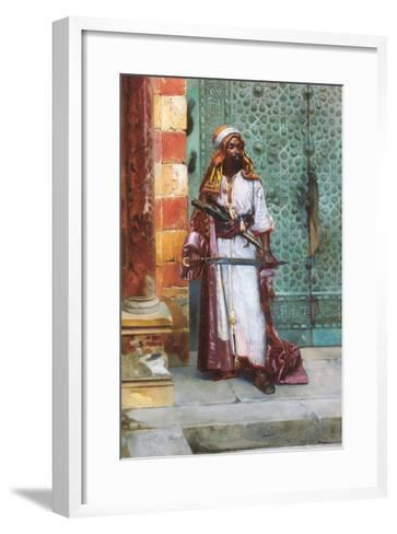 Standing Guard-Rudolph Ernst-Framed Art Print