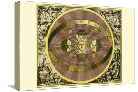 Sceno Systematis Copernicani-Andreas Cellarius-Stretched Canvas Print