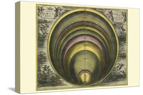 Corprum Coelestium-Andreas Cellarius-Stretched Canvas Print