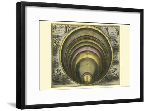 Corprum Coelestium-Andreas Cellarius-Framed Art Print
