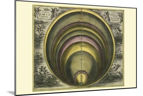 Corprum Coelestium-Andreas Cellarius-Mounted Art Print