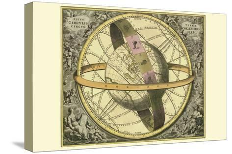 Circulis Coelestibus-Andreas Cellarius-Stretched Canvas Print