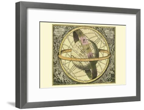 Circulis Coelestibus-Andreas Cellarius-Framed Art Print