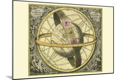 Circulis Coelestibus-Andreas Cellarius-Mounted Art Print