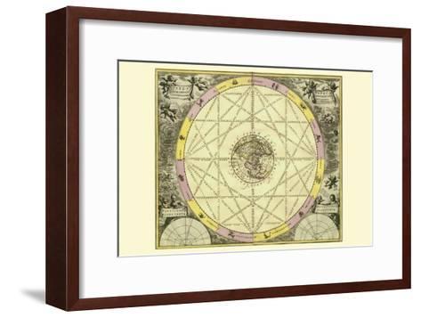 Typhus Aspec-Andreas Cellarius-Framed Art Print