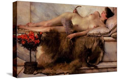 Tepidarium-Sir Lawrence Alma-Tadema-Stretched Canvas Print