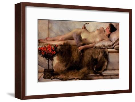 Tepidarium-Sir Lawrence Alma-Tadema-Framed Art Print