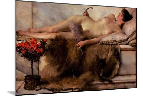 Tepidarium-Sir Lawrence Alma-Tadema-Mounted Art Print