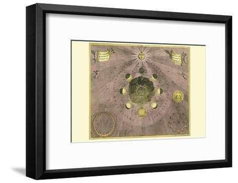 Phases Luna-Andreas Cellarius-Framed Art Print