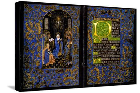 Descent of the Holy Spirit; the Black Hours--Stretched Canvas Print