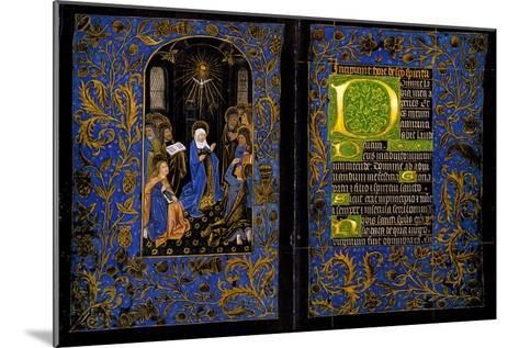 Descent of the Holy Spirit; the Black Hours--Mounted Art Print