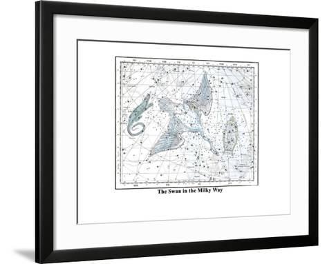 The Swan in the Milkyway-Alexander Jamieson-Framed Art Print