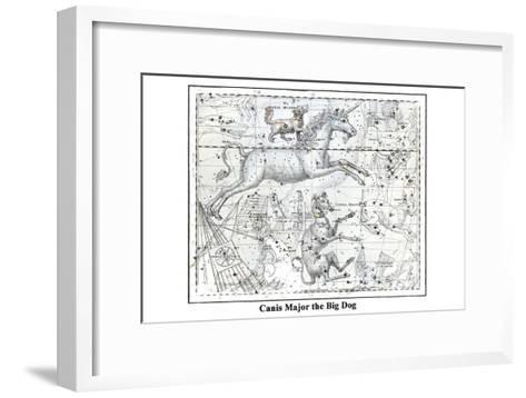 Canis Major the Big Dog-Alexander Jamieson-Framed Art Print