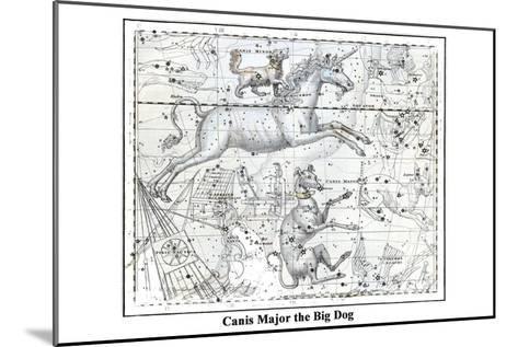 Canis Major the Big Dog-Alexander Jamieson-Mounted Art Print