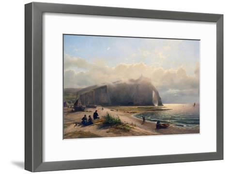 Coastal View-Antoine van Deventer-Framed Art Print