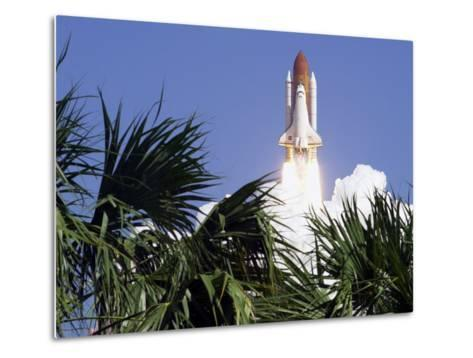 Space Shuttle-John Raoux-Metal Print