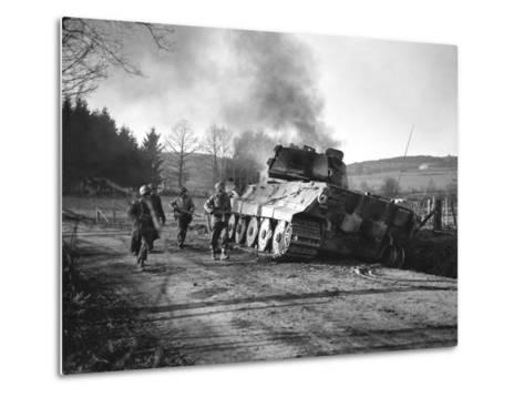 WWII Battle of the Bulge-Peter J^ Carroll-Metal Print