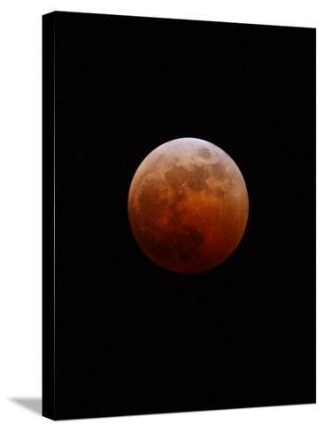 Lunar Eclipse-Alan Diaz-Stretched Canvas Print