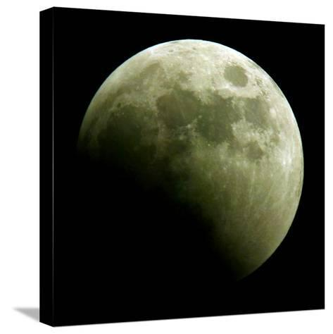 Lunar Eclipse-Harry Cabluck-Stretched Canvas Print