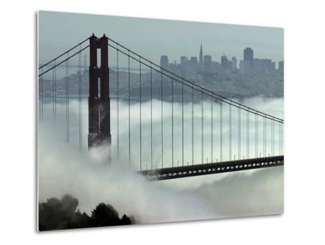 San Francisco Golden Gate Bridge-Paul Sakuma-Metal Print