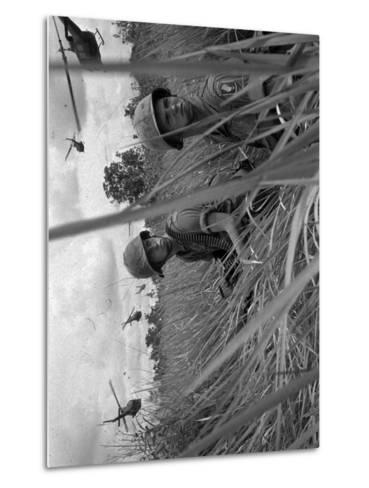 Vietnam War-Associated Press-Metal Print