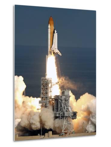 Space Shuttle-Chris O'Meara-Metal Print