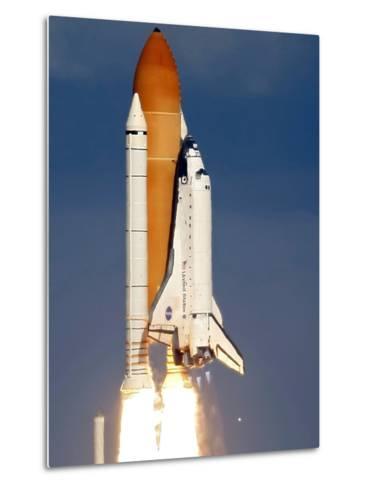 Space Shuttle-Alan Diaz-Metal Print