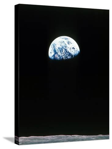 Apollo 11--Stretched Canvas Print