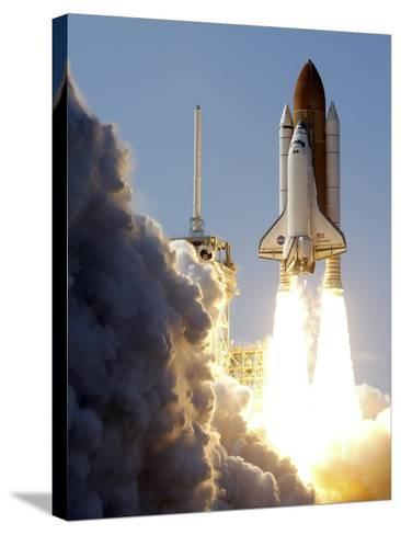 Space Shuttle-Terry Renna-Stretched Canvas Print